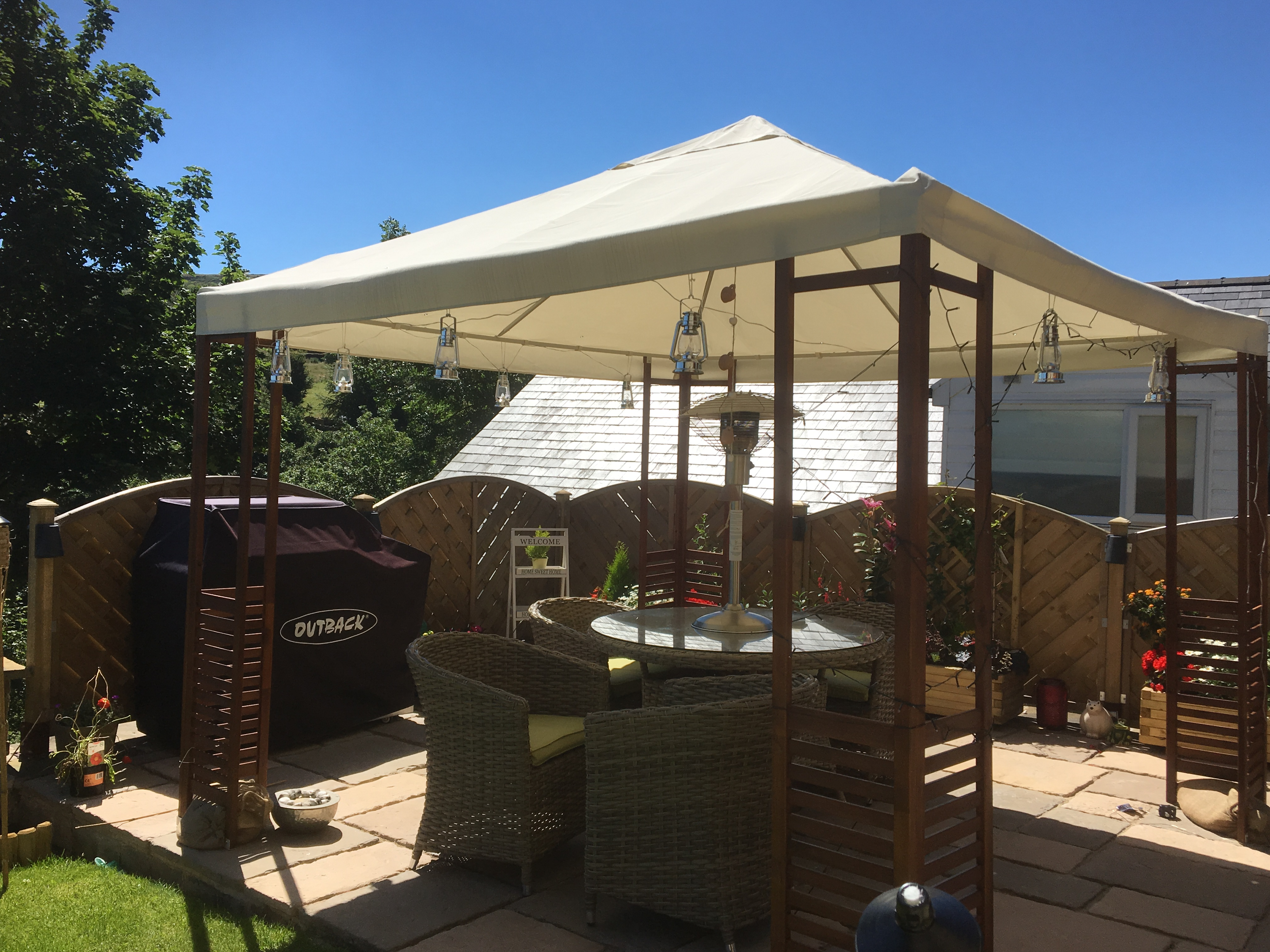 Garden Patio Lighting ( Meltham )